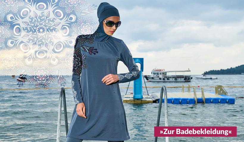 ziyimaoyi Conservative muslimische Bademode islamische Badeanzug Frauen Hijab Bademode volle Abdeckung Bademode Muslim SurfBeachwear Badeanzug